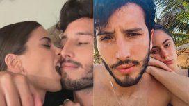 El súper beso de Sebastián Yatra y Tini Stoessel
