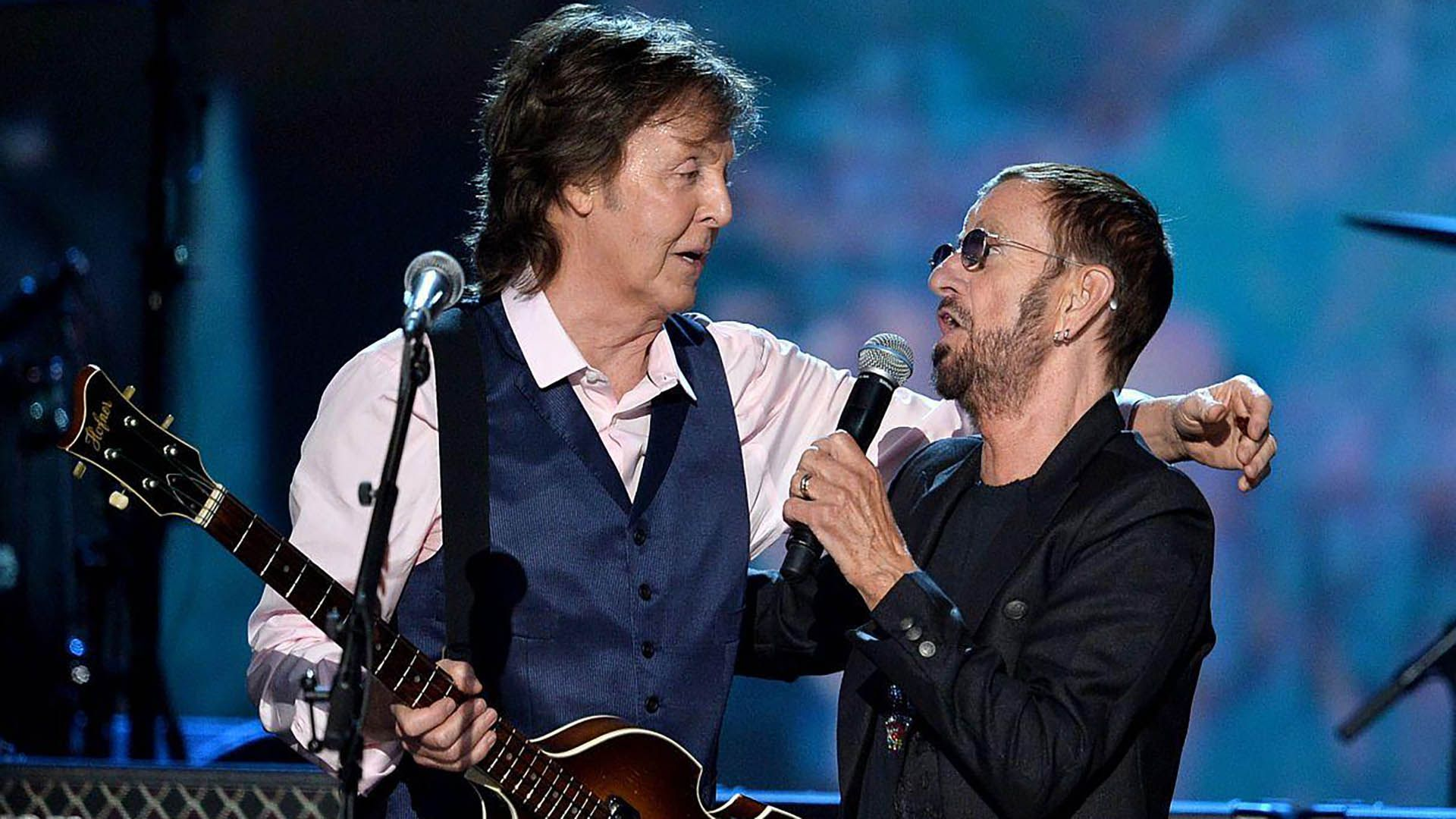 Paul McCartney y Ringo Starr