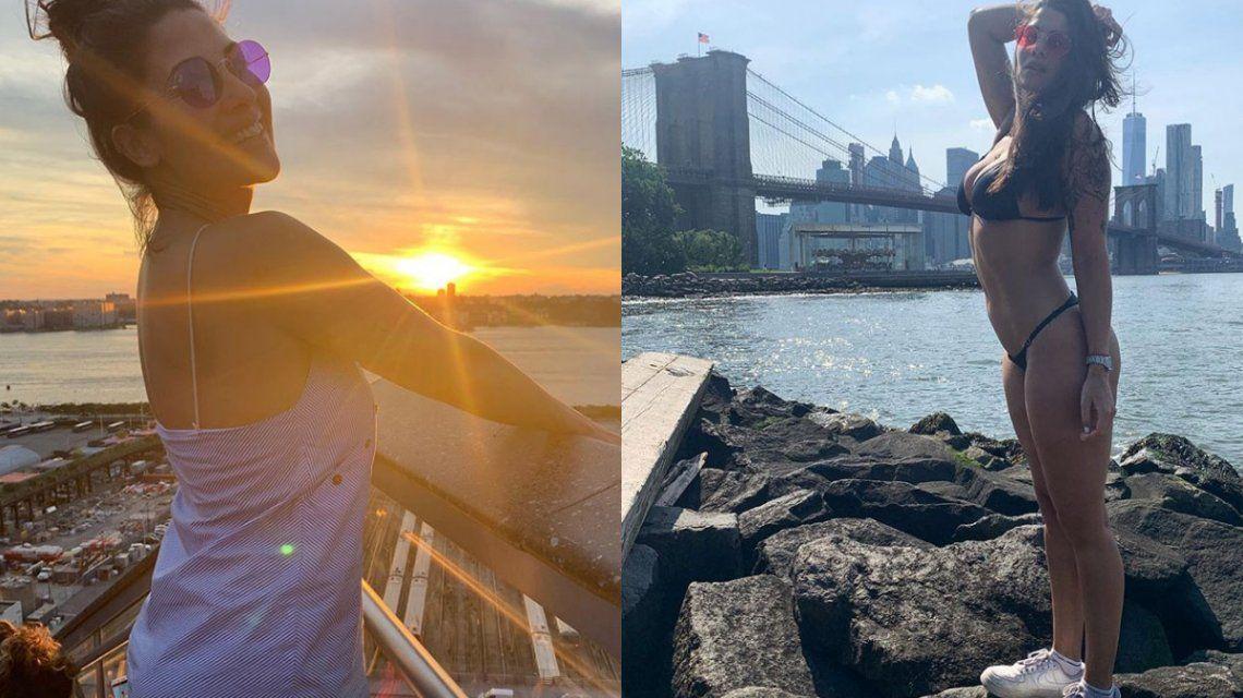 Ivana Nadal se sacó todo en Nueva York: El calor me superó