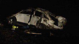 El Pepo volcó con su camioneta y murieron dos acompañantes: está internado