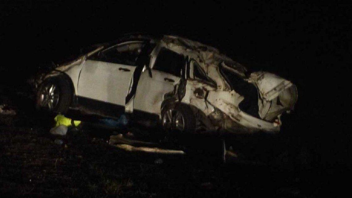 El Pepo volcó con su camioneta y murieron dos acompañantes: está internado e imputado