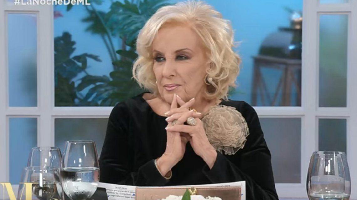 Mirtha Legrand le pidió perdón a Mario Massaccesi por preguntarle si había sido violado de niño