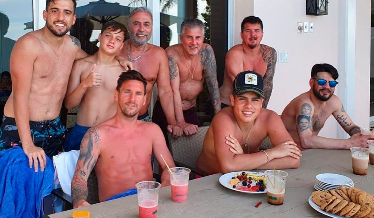 Lionel Messi compartió una foto de sus vacaciones y sorprendió con su estado
