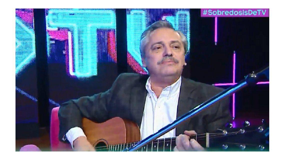Alberto Fernández en Sobredosis de TV