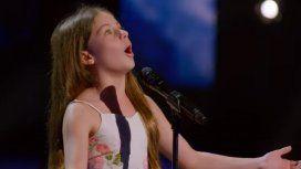 La nena de 10 años que sorprendió cantando ópera en Americas Got Talent