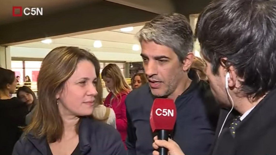 Nancy Dupláa y Pablo Echarri votaron para las PASO: Va a salir todo maravillosamente bien