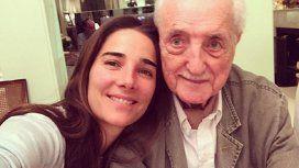 Emotiva despedida de Juana Viale a su tío abuelo: Te amo y te abrazo, ya no hay distancia