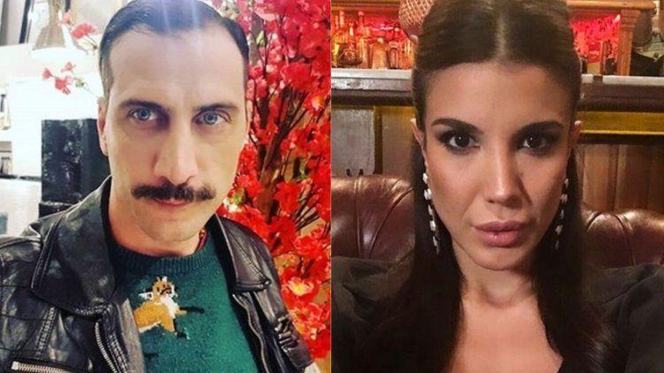 Luciano Cáceres y Andrea Rincón, juntos, tras conocerse en las grabaciones de ATAV