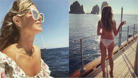 La paradisíaca luna de miel de Heidi Klum en la costa italiana