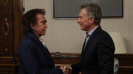 Macri recibió al Puma Rodríguez