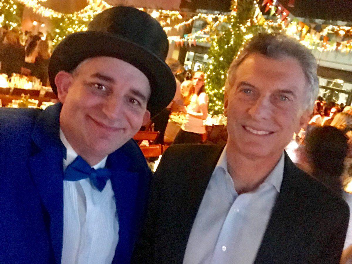 El Mago sin dientes se reunió con Mauricio Macri