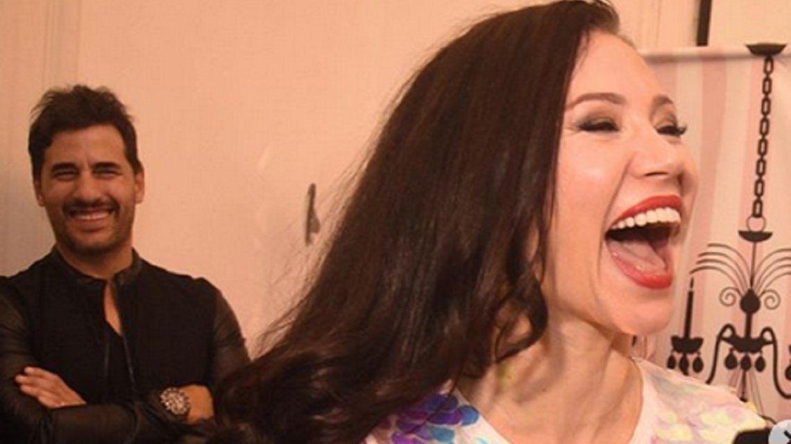 Adabel Guerrero festejó sus 40 años y su pareja la sorprendió con el pedido de casamiento