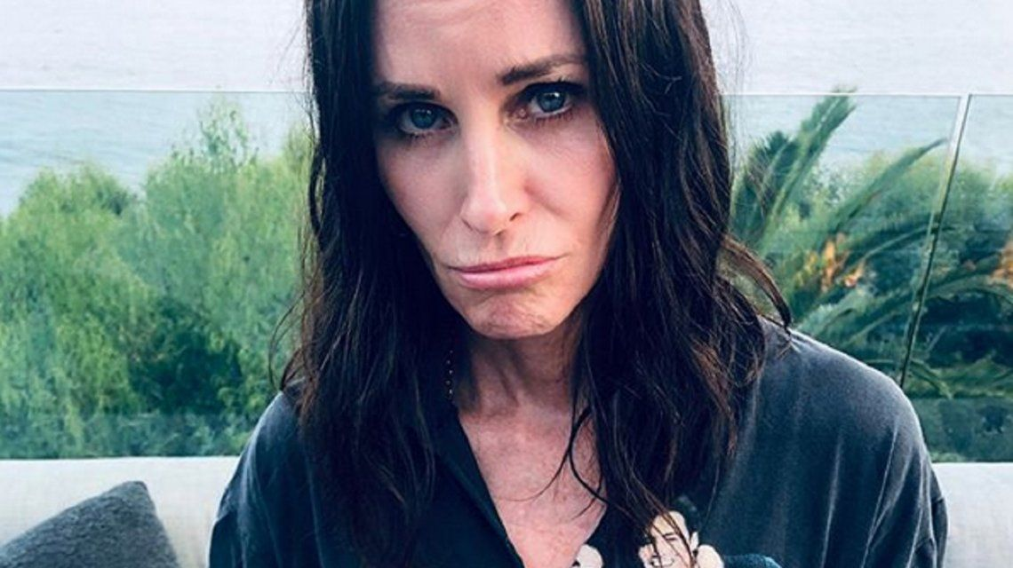 Courteney Cox se rió de sí misma con un divertido posteo sobre Friends