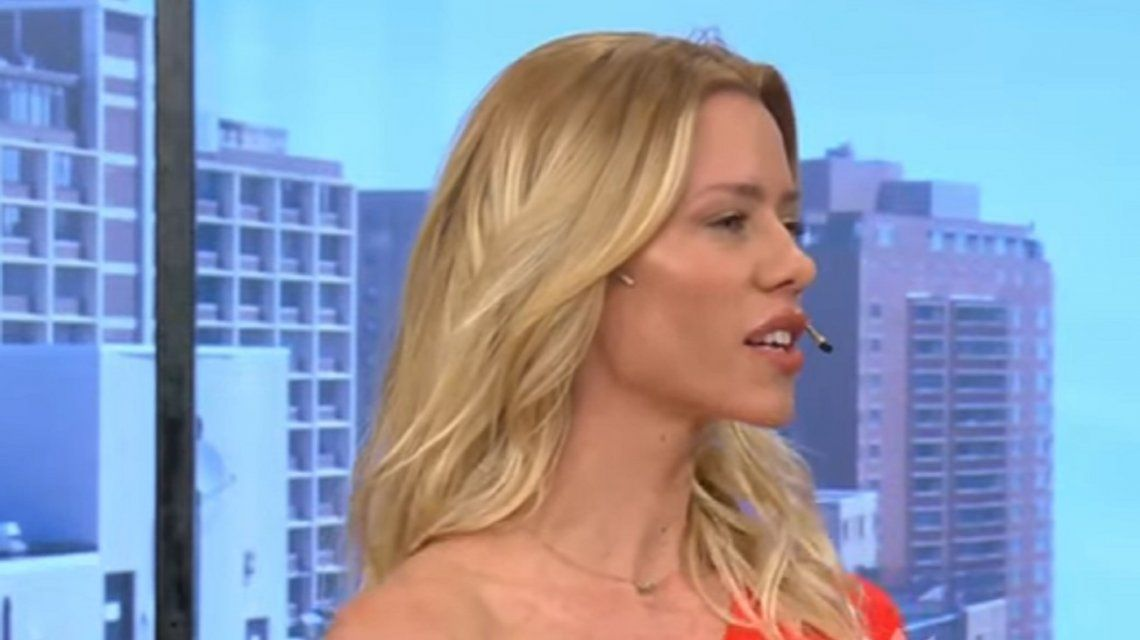 El repudio de Nicole Neumann a un móvil desde una parrilla: Es un bicho muerto, asesinado y descuartizado