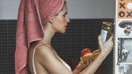 La inesperada foto de Violeta Urtizberea embarazada: Me estaba yendo a bañar y de golpe...