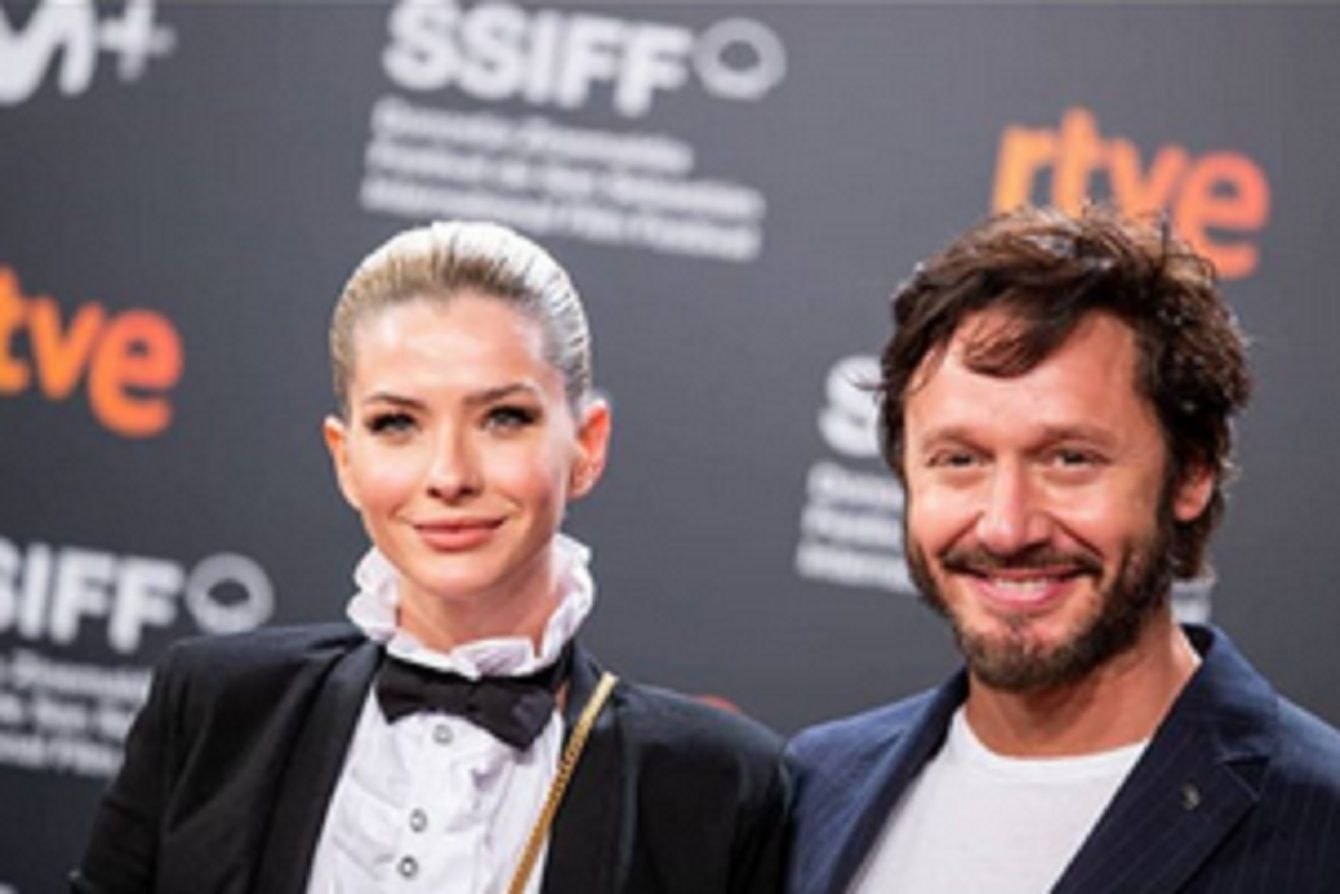La China Suárez y Benjamín Vicuña, enamorados en el festival de San Sebastián