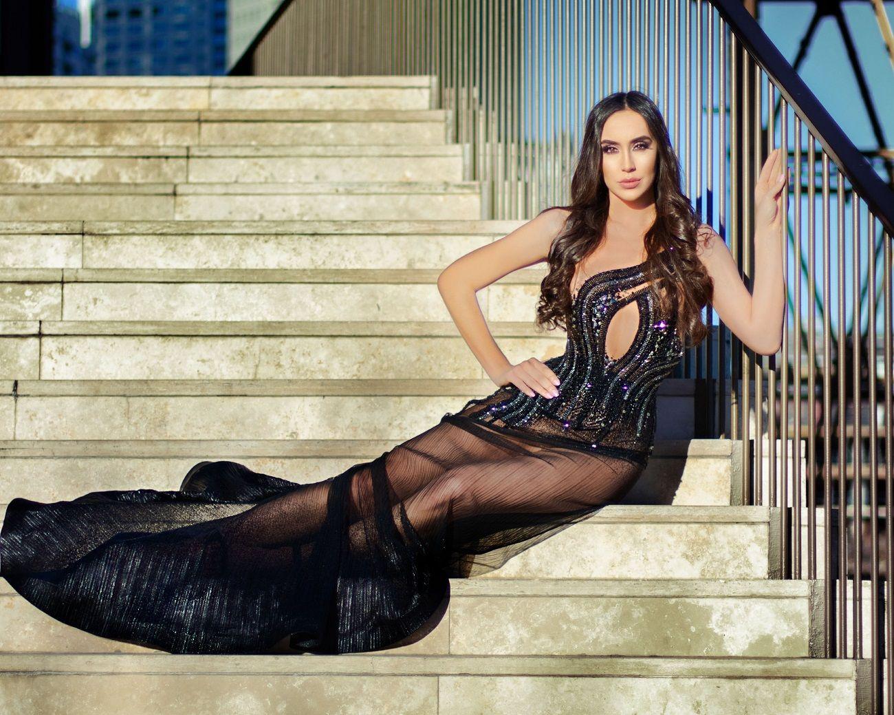 Florencia De Palo, la modelo que filmó una serie de Keanu Revees y es candidata a Miss Universo Argentina