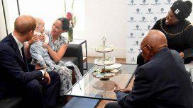 Meghan Markle y el príncipe Harry llevaron a su hijo a un tour por Sudáfrica