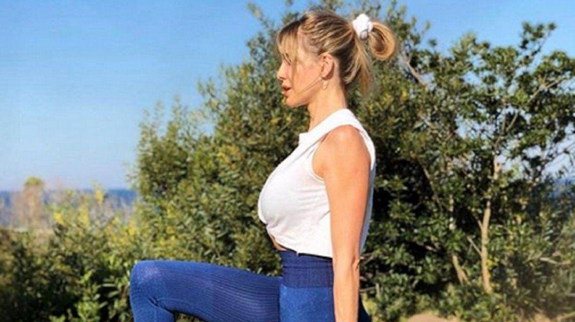 Guillermina Valdés contó cómo es su entrenamiento: Cambió mi cuerpo, mi energía y movilidad