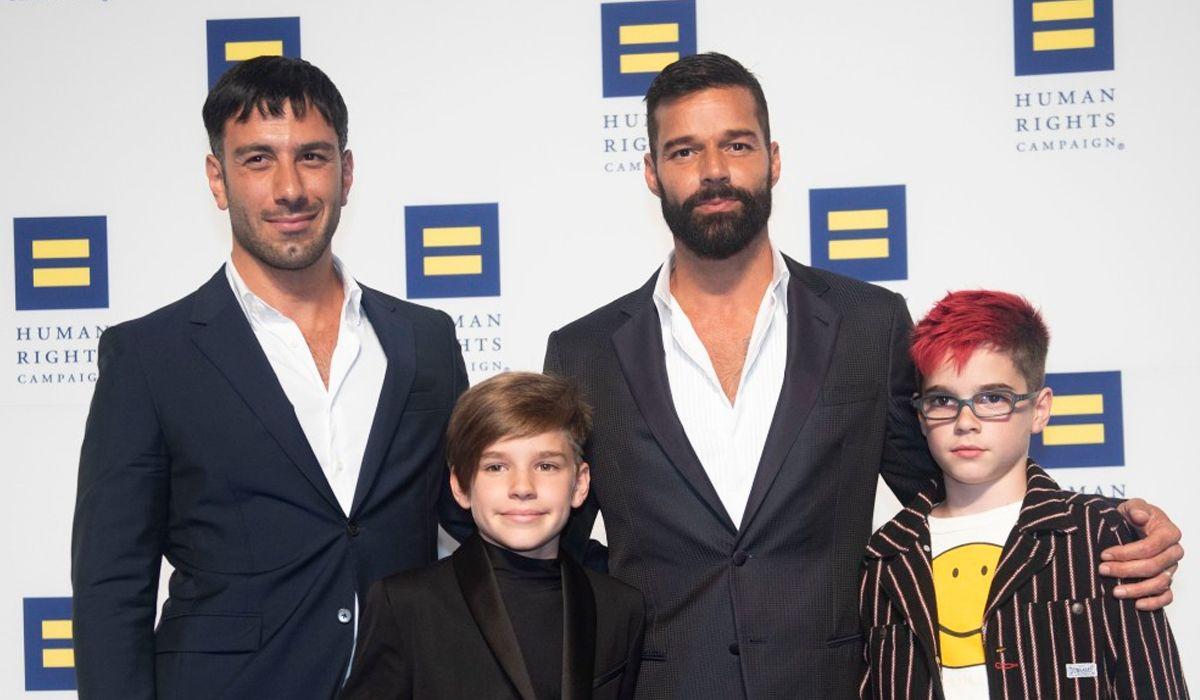 Ricky Martin anunció que está esperando su cuarto hijo junto a Jwan Yosef