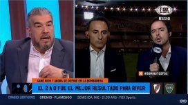El fuerte cruce de dos periodistas deportivos por el River - Boca