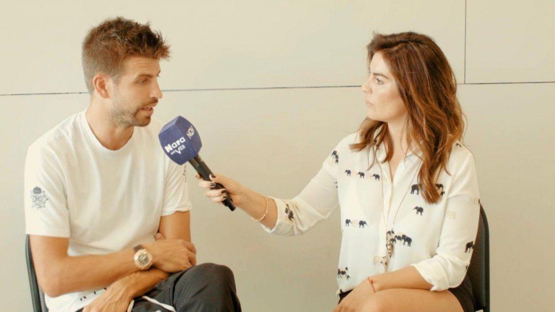 Gerard Piqué, en exclusiva para C5N: cómo es su vida con Shakira y la relación con Lionel Messi