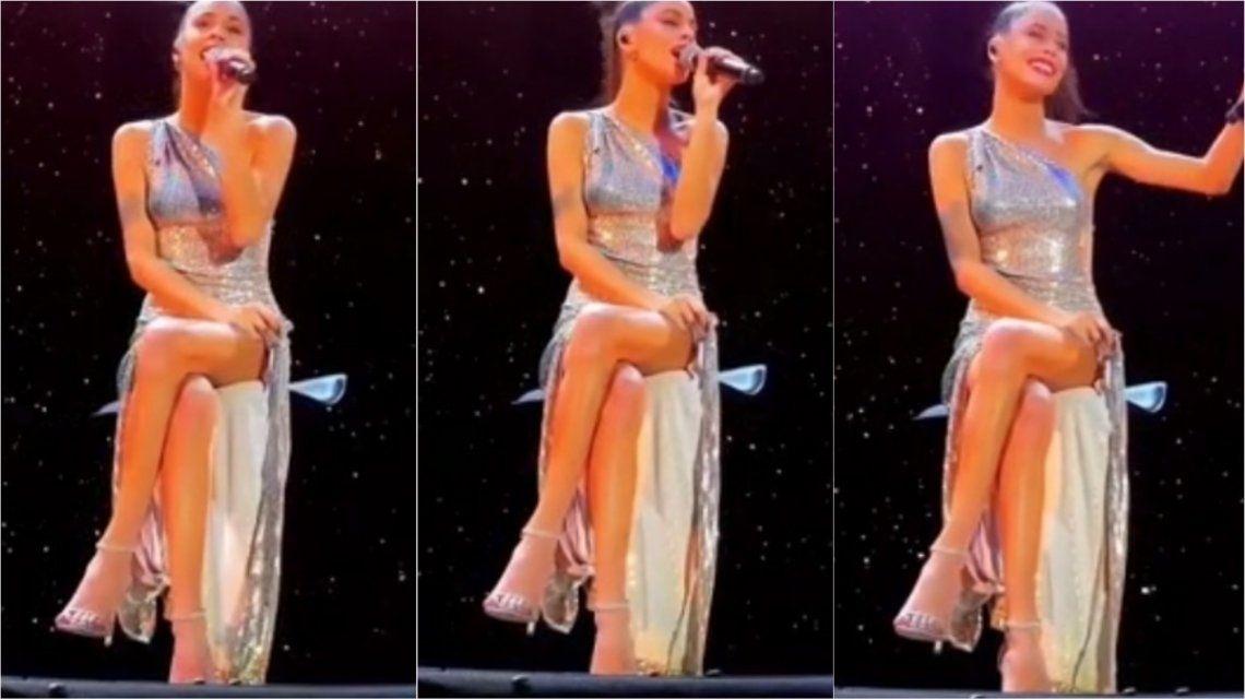 El video de un show de Tini Stoessel que se viralizó por un motivo desagradable