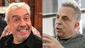 Fuerte cruce entre Coco Sily y Rubén Orlando