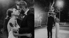 Las fotos del casamiento del Pollo Álvarez con Tefi Russo