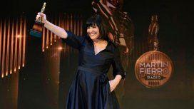 Elizabeth Vernaci, la primera mujer en ganar el Martín Fierro de Oro de la radio