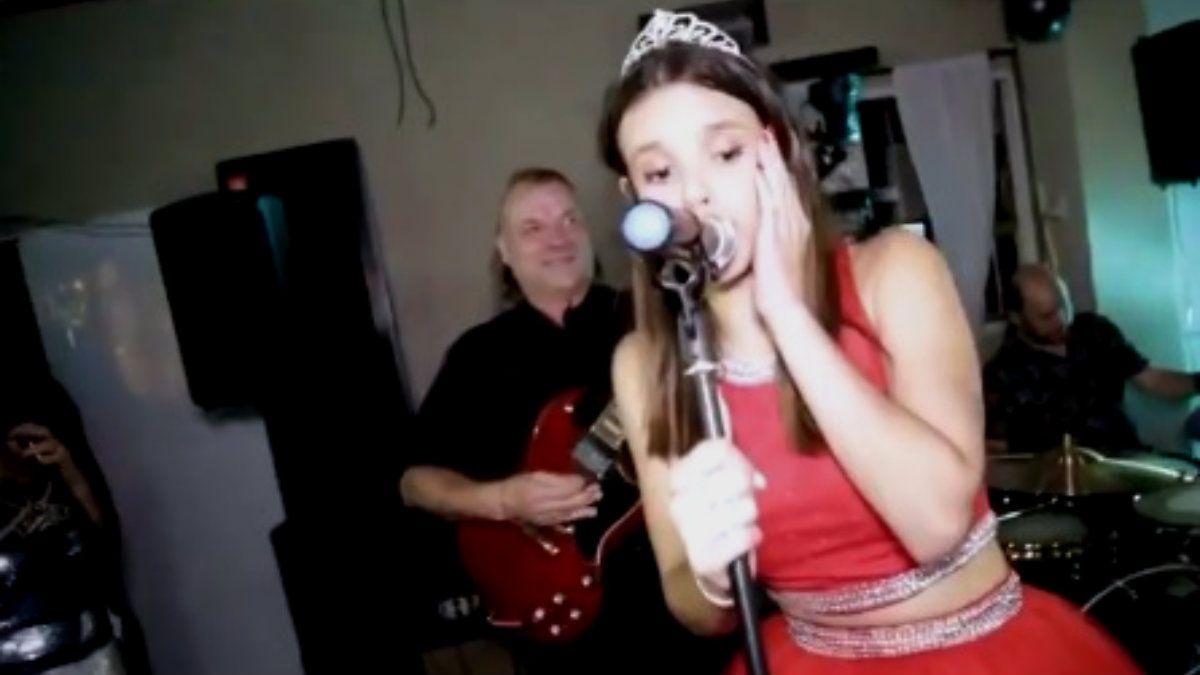 La Renga tocó en un cumpleaños de 15 con la agasajada y explotó todo