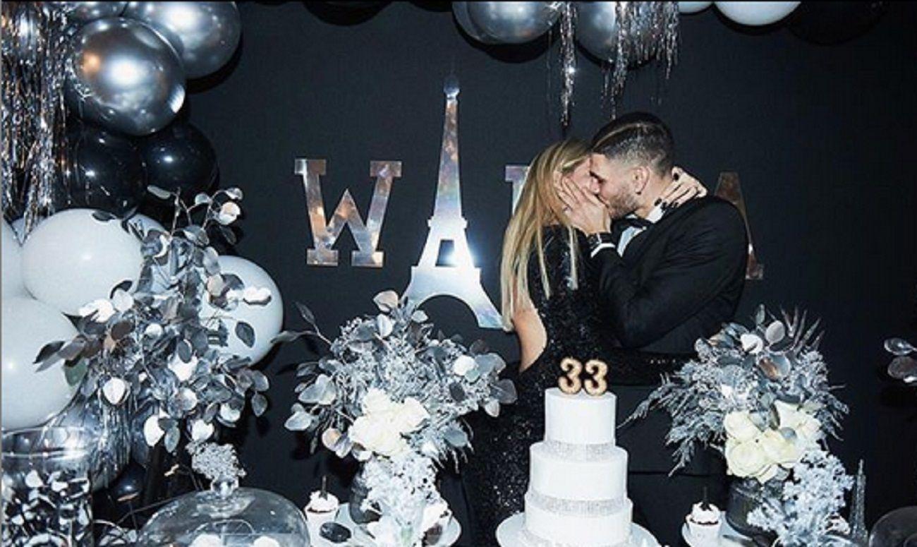 Las fotos del lujoso festejo de cumpleaños parisino de Wanda Nara