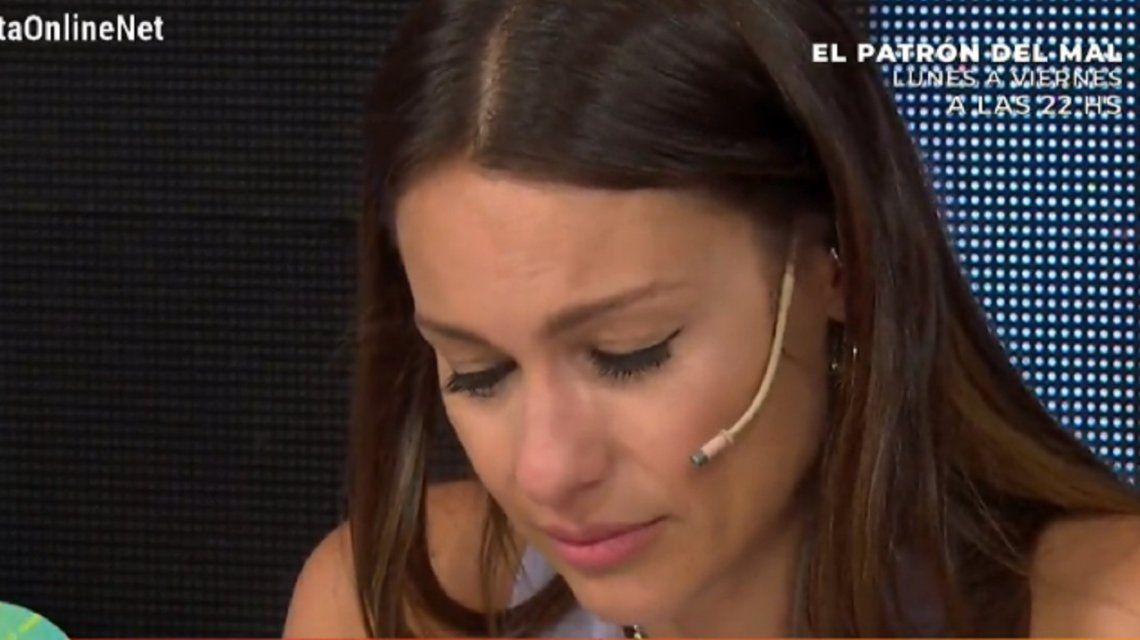 Pampita estalló en llanto tras ser acusada de mala madre: ¿Qué quería? ¡Que mis hijos me vean llorar!