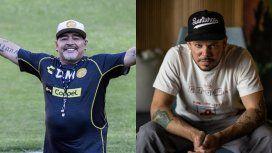 El encuentro de Diego Maradona con Residente