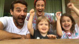 El emocionante video del momento en el que Paula Chaves reveló el sexo del bebé