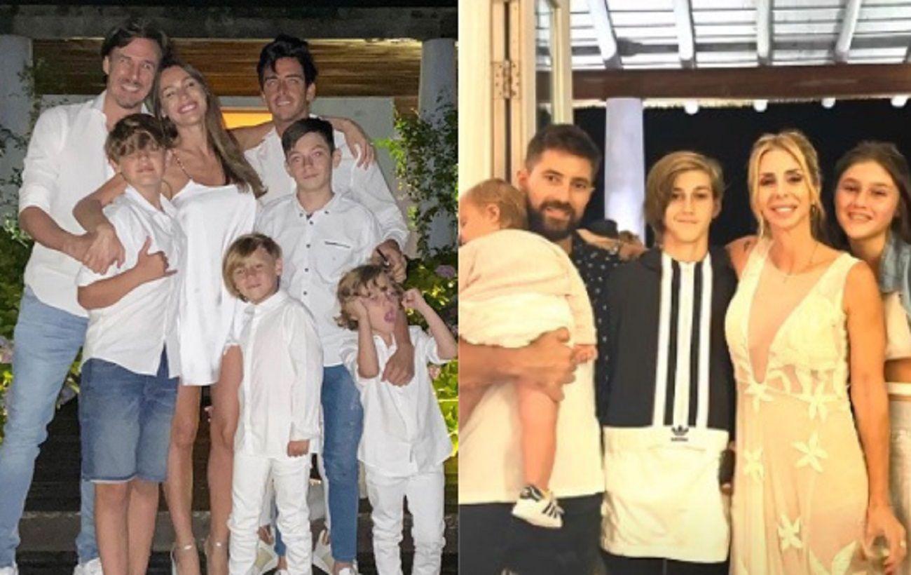 Pampita pasó Año Nuevo en la casa de Milagros Brito, la ex mujer de Roberto García Moritán