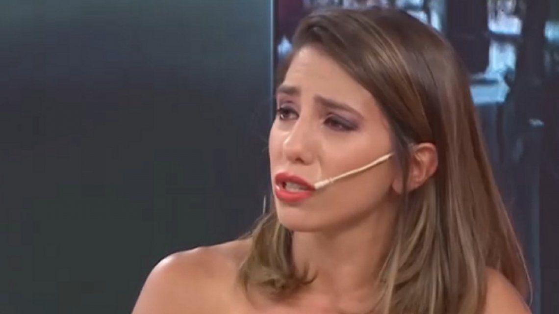 La angustia de Cinthia Fernández al ver a Martín Baclini con otra mujer: Lo extraño