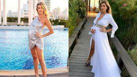 Los looks súper elegantes y sexies de Mery del Cerro, con su pancita de seis meses