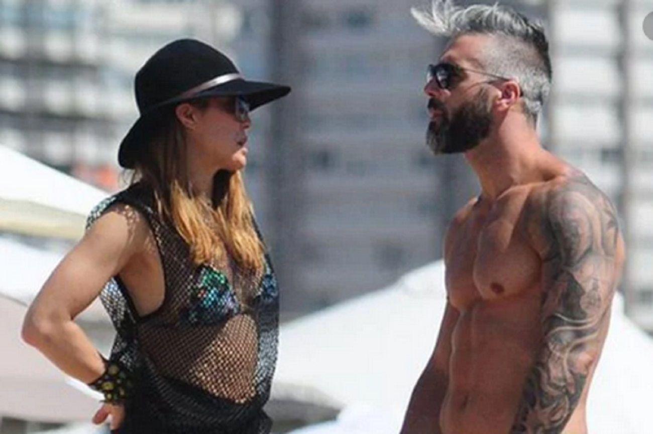 El ex novio de Miriam Lanzoni se defendió por la infidelidad: Estábamos en un impasse