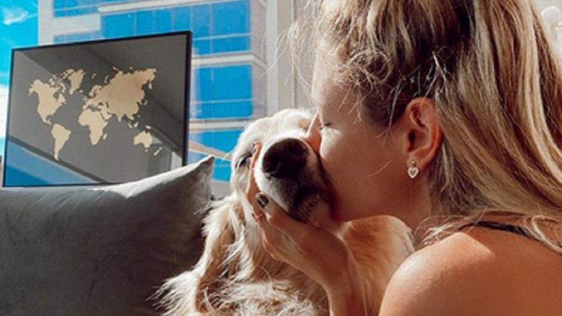 La angustia de Stephanie Demmer por la muerte de su perro: Te voy a extrañar todos los días de mi vida
