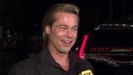 La respuesta evasiva de Brad Pitt cuando le preguntaron por su encuentro con Jennifer Aniston