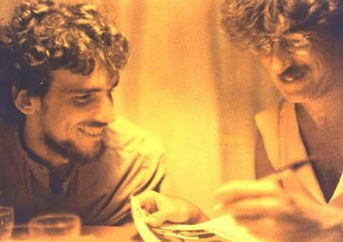 El Flaco Luis Alberto Spinetta y Charly García