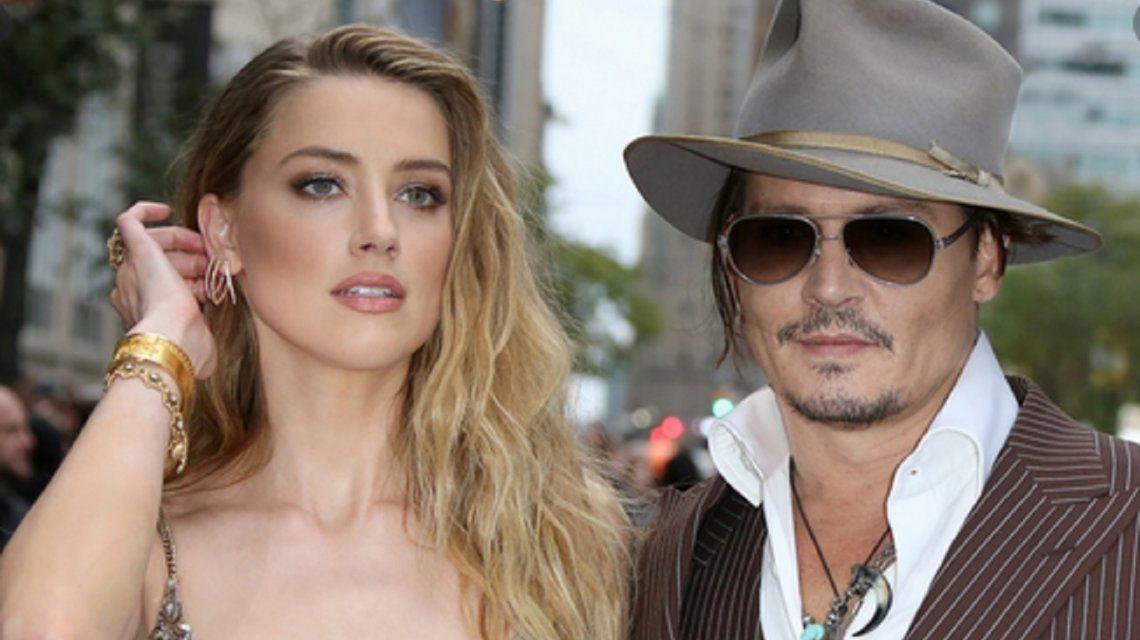 Filtran audios de Amber Heard admitiendo que golpeaba a Johnny Deep