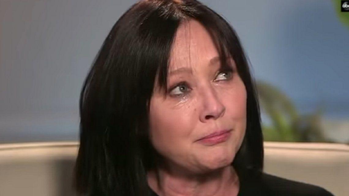 Doloroso relato de Shannen Doherty en vivo: Tengo cáncer otra vez, estoy aterrada