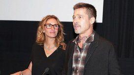 Julia Roberts y un cálido homenaje a Brad Pitt tras ganar el Oscar