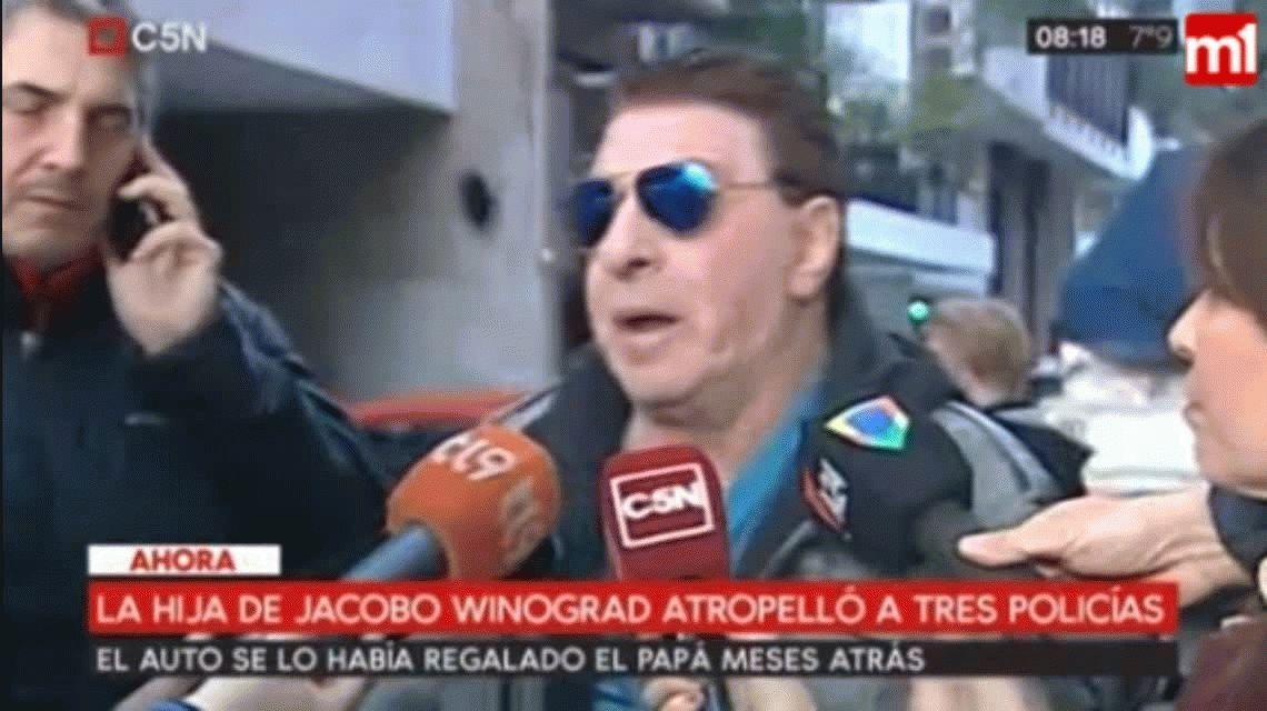 La hija de Jacobo Winograd atropelló a cuatro personas en Palermo