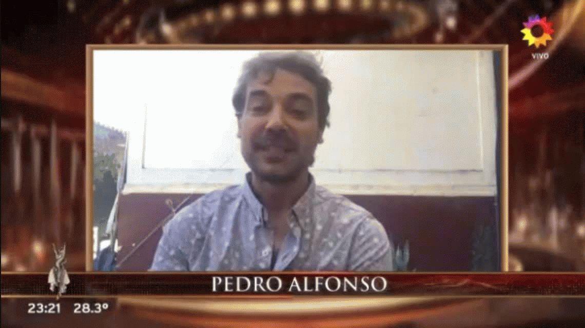 La emoción de Flor Vigna por las palabras de Pedro Alfonso