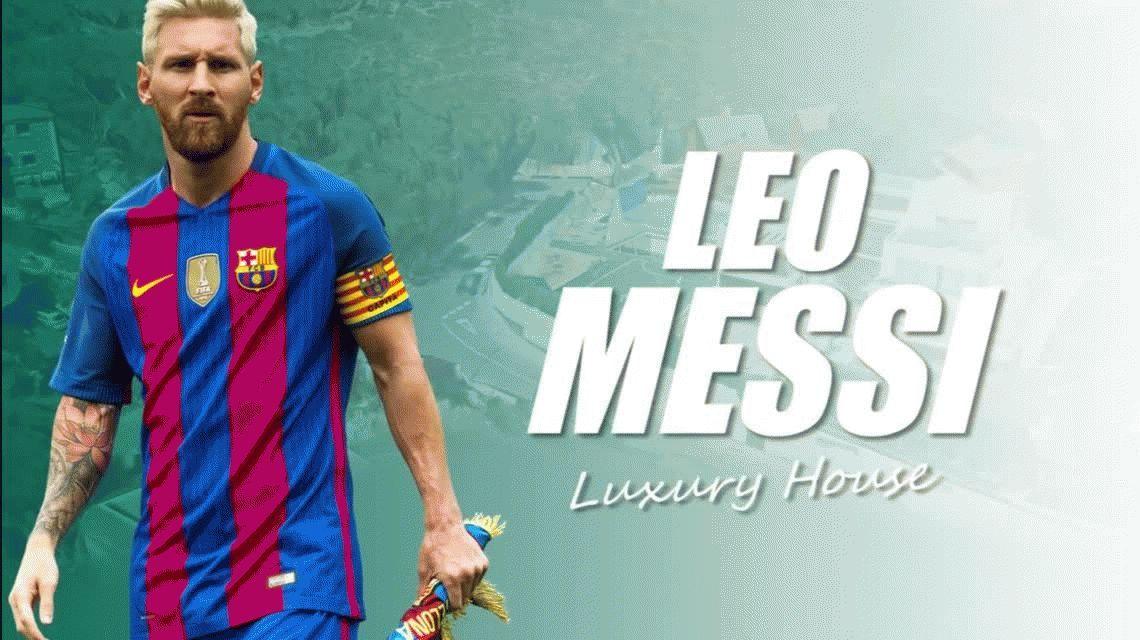 Así es la lujosa mansión de Leo Messi y Antonella Roccuzzo en Barcelona
