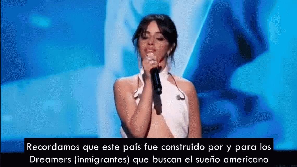 Para Trump que lo mira por TV: el discurso de Camila Cabello sobre los dreamers