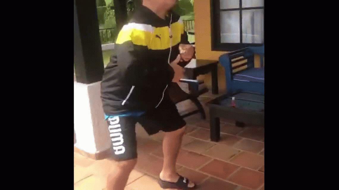 ¡Ya está bárbaro! Le dieron de alta a Maradona y se bailó un vallenato